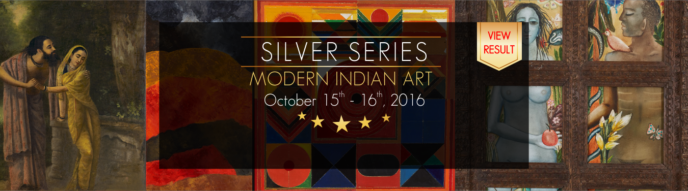 Modern Indian Art Auction 15th -16th October 2016