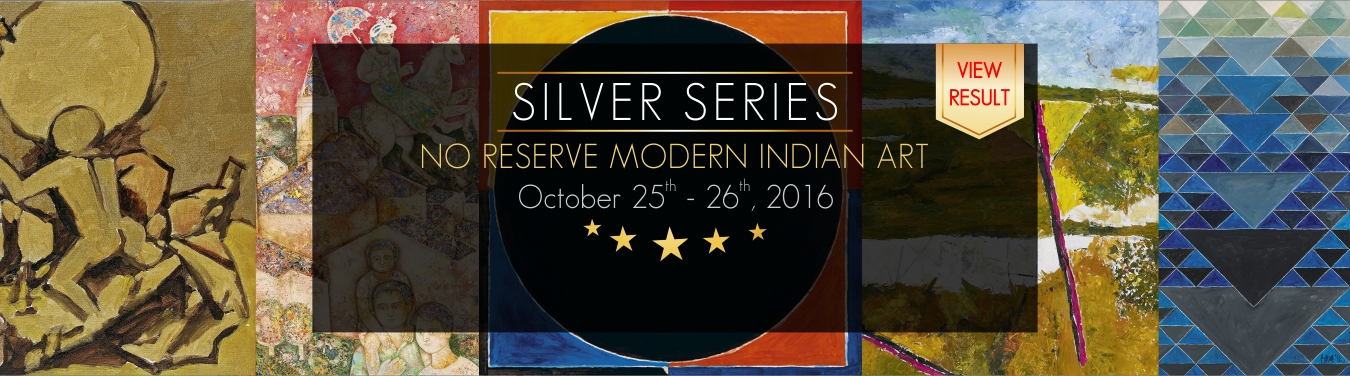 No Reserve Auction - Modern Indian Art 25th -26th October 2016